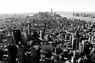 New York B&W 19