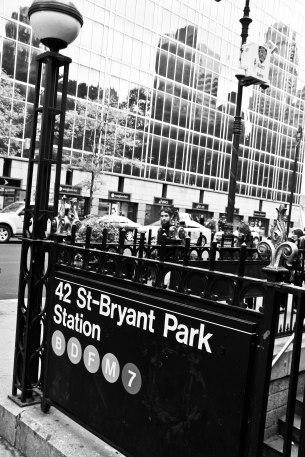 New York B&W 8
