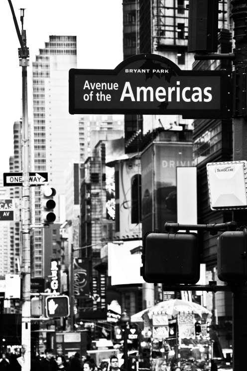 New York B&W 9